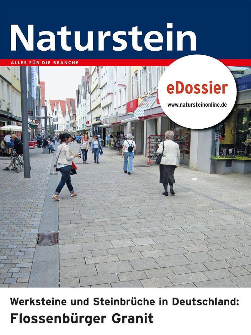 Produkt: Werksteine und Steinbrüche in Deutschland: FLOSSENBÜRGER GRANIT