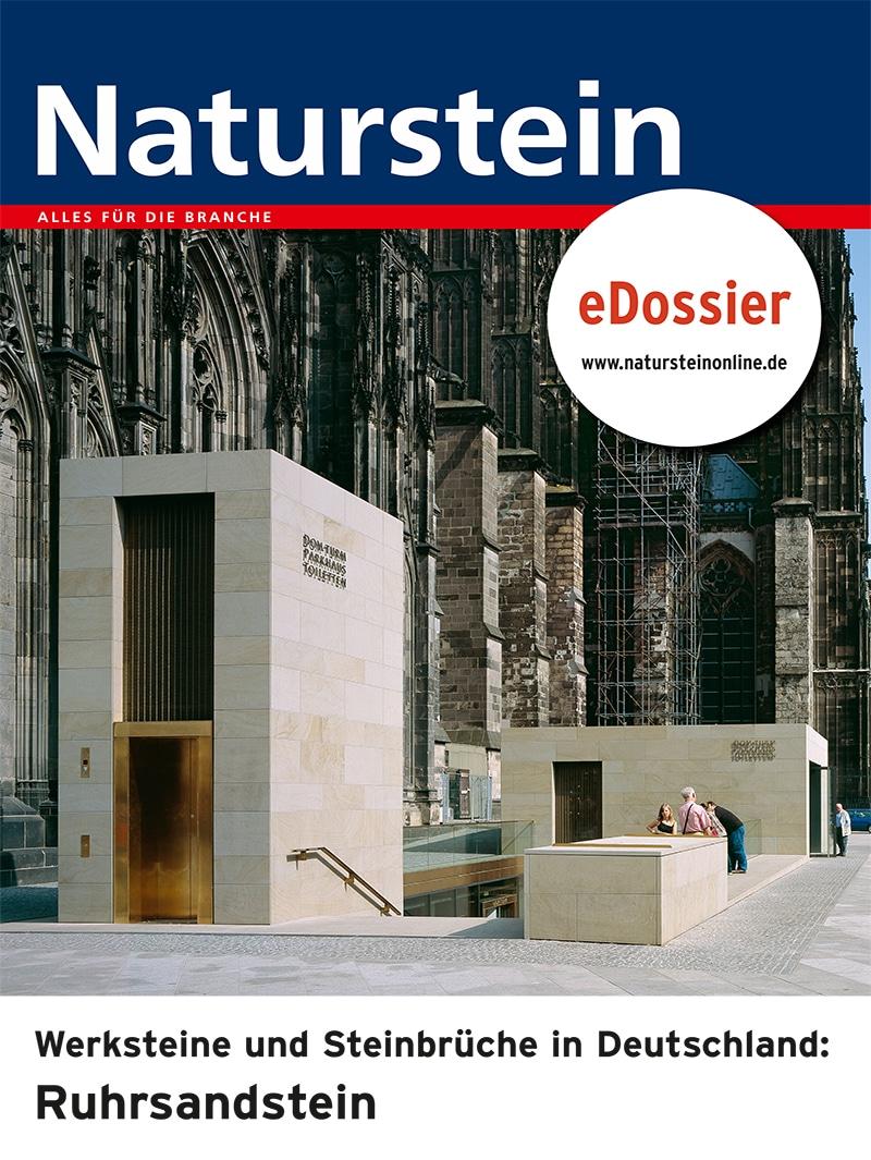 Produkt: Werksteine und Steinbrüche in Deutschland: RUHRSANDSTEIN