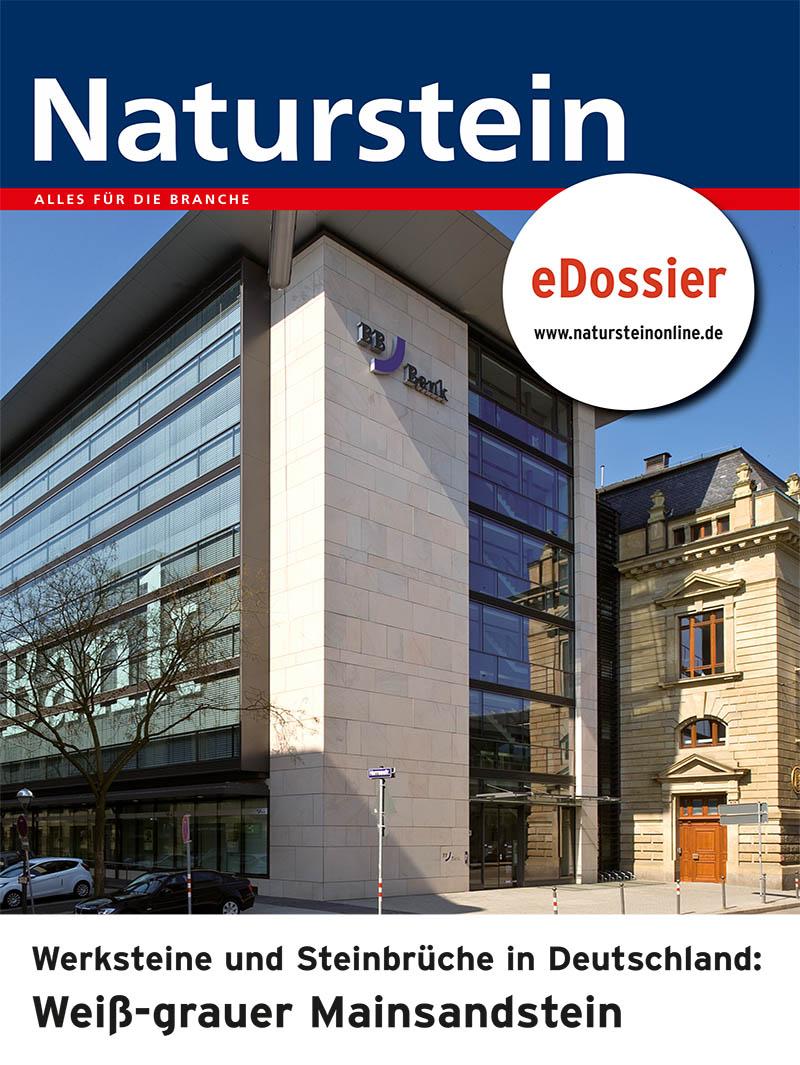 Produkt: Werksteine und Steinbrüche in Deutschland: MAINSANDSTEIN